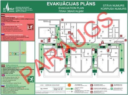 Evakuācijas plāns